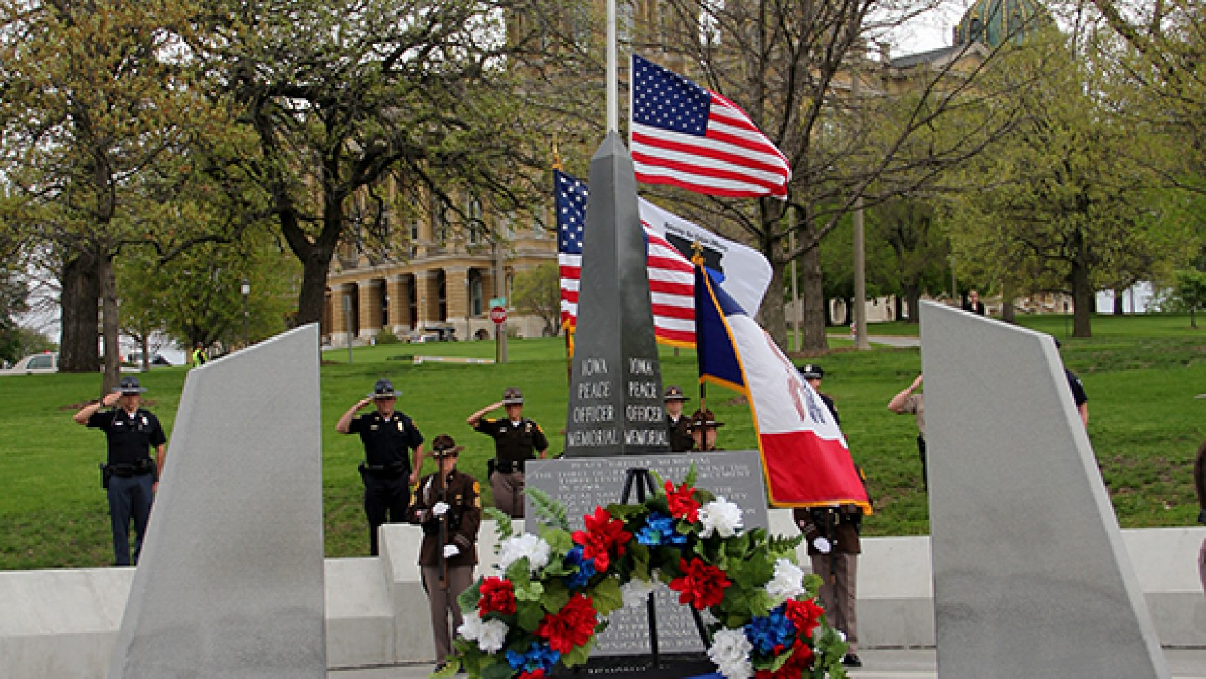 Iowa Peace Officer Memorial Service