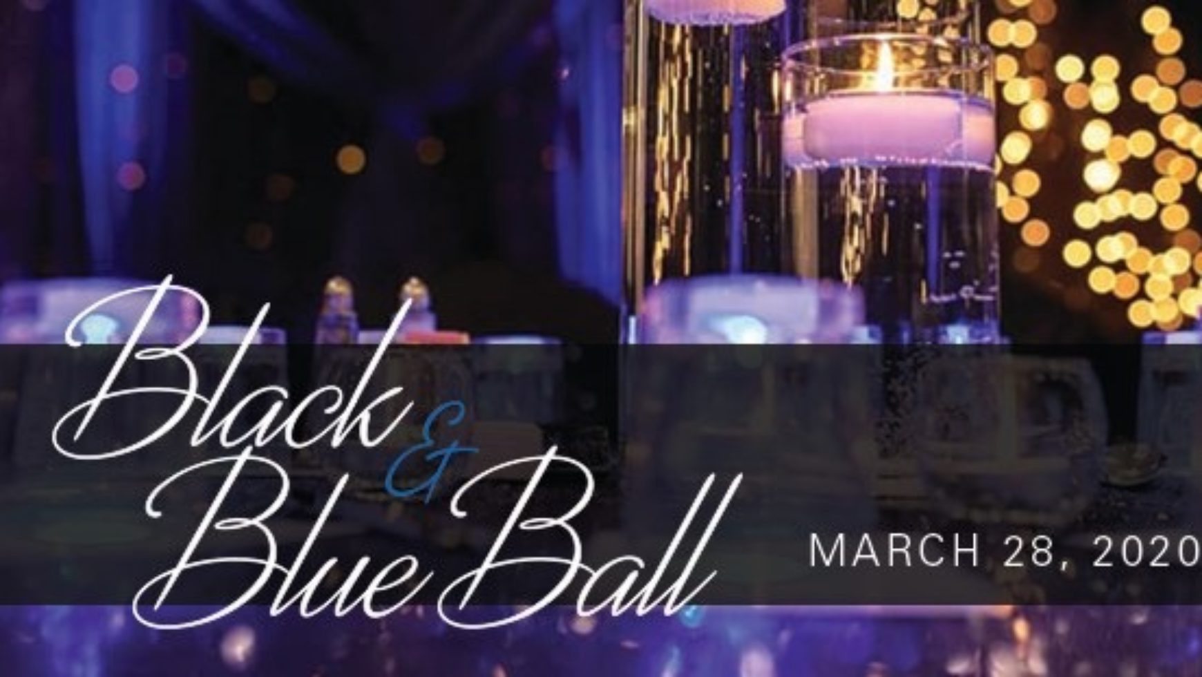 Black and Blue Ball 2020